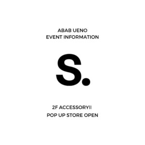 SUSTAINABLE. POP UP SHOPのご案内 画像