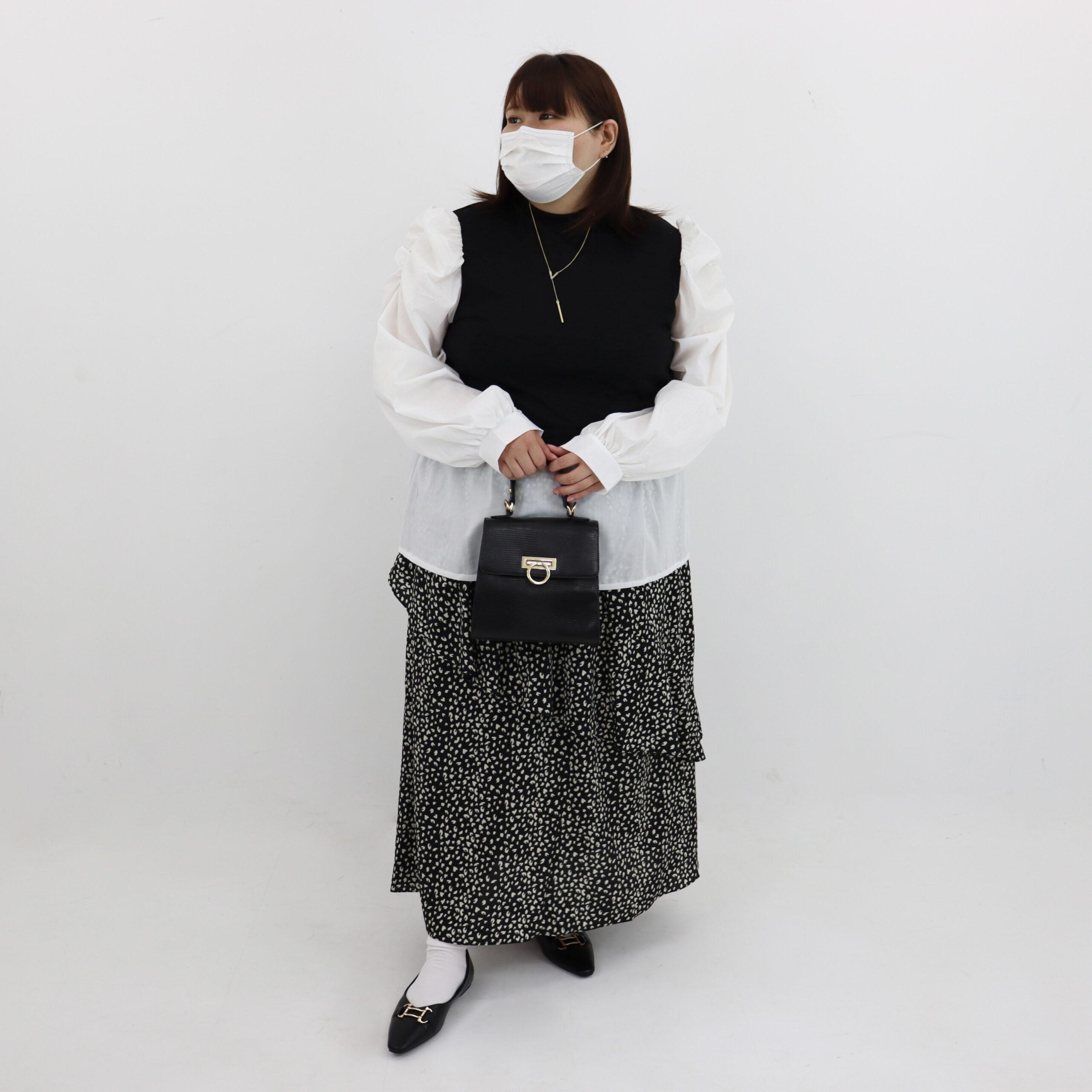 プラスサイズ コーディネート紹介😊