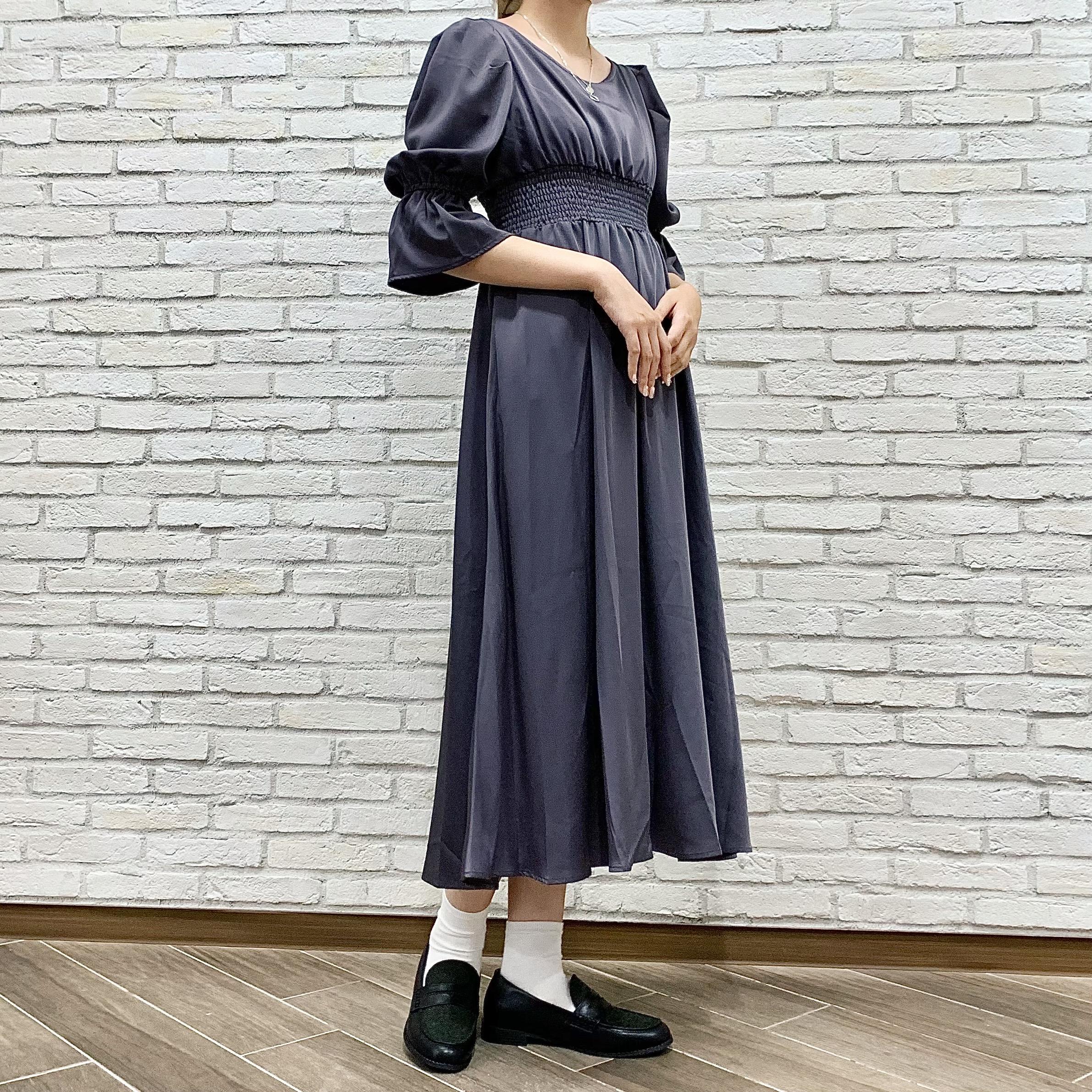 【LOVE ME…S+】秋にぴったり💛新作シャーリングワンピースのご紹介
